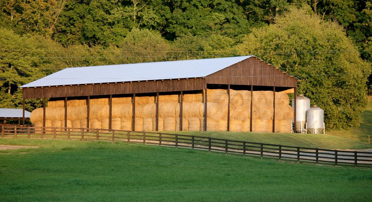 winter hay storage williamson farmers co op