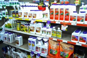 We have a full selection of weed control products to help the home lawn and garden or farm.